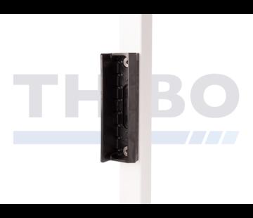 Locinox Polyamide garden gate keep for rectangular profiles