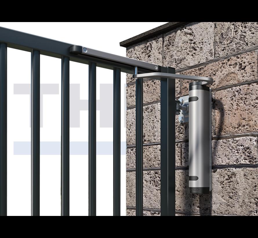Krachtige en all-round hydraulische poortsluiter voor 90° en 180° scharnieren - Verticlose-2