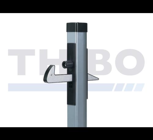Locinox Aluminium gate hold-back catch