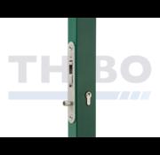 Locinox Handleless stainless steel insert lock with hook