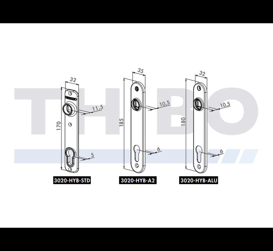 Cover shield for insert locks