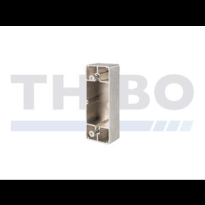 Aluminium adapter bakje voor platte profielen