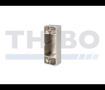 Thibo Boîtier en aluminium pour fixation sur profil plat
