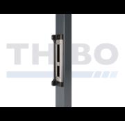 Thibo Roestvrijstalen inbouw slotvanger voor Fortylock, Fiftylock en Sixtylock