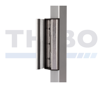Adjustable keep out of stainless steel