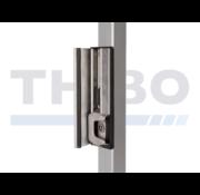 Thibo Verstelbare veiligheidsslotvanger uit roestvrij staal