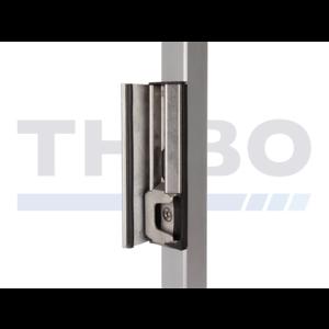 Verstellbarer Sicherheitsanschlag aus rostfreiem Stahl