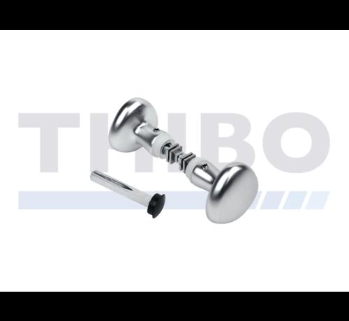 Locinox Gerundeter Aluminium-Drückerset