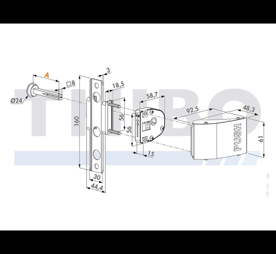Aluminium-Push-Set