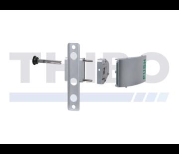 Locinox Push handle set in aluminium
