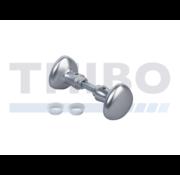Aluminium round knobs