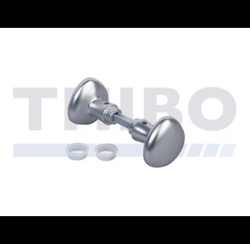Locinox Gerundeter Aluminium-Dreieckknauf