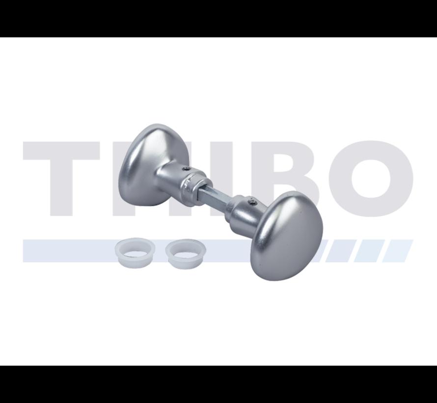 Gerundeter Aluminium-Dreieckknauf