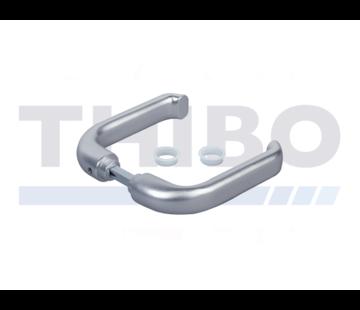 Drückerpaar aus verstärktem Aluminium