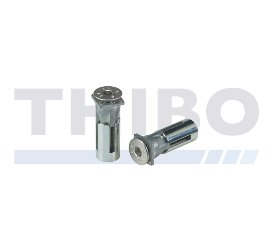 Stainless steel fixation bolt with high pulling resistance - Quick-Fix