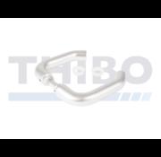Aluminium handle pair