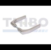 Locinox Eloxiertes Drückerpaar aus Aluminium