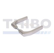 Paire de poignées aluminium anodisé