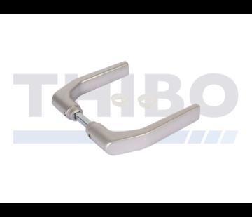 Anodized aluminium handle pair