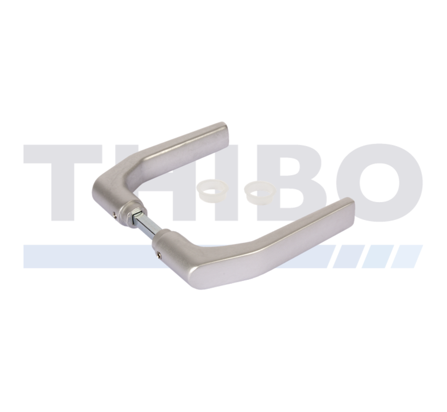 Krukpaar in geanodiseerd aluminium