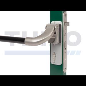 Barre de pousséeen aluminium