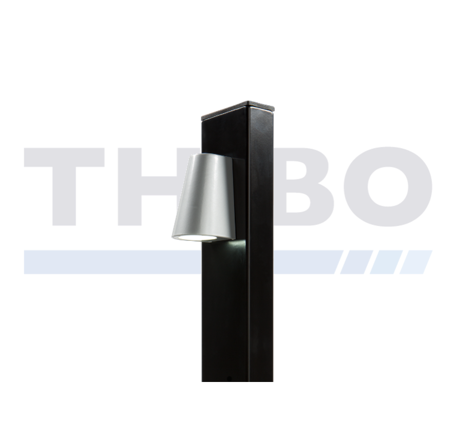 Design LED-verlichting voor paalmontage - Tricone