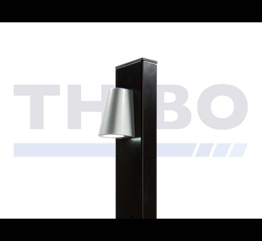 Lampe LED design pour poteau - Tricone