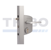 Surface mounted gate lock