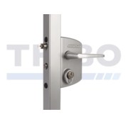 Locinox Surface mounted gate lock for Swiss profile cylinder