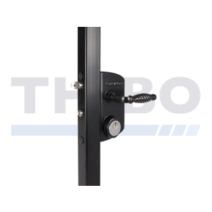 Locinox Surface mounted US Mortise cylinder gate lock