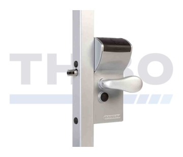 Locinox Surface mounted mechanical code lock with secured entrance and free exit - Free Vinci
