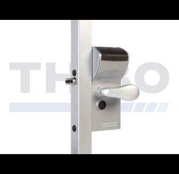Locinox Mechanisch codeslot in opbouw met beveiligde ingang en vrije uitgang - Free Vinci