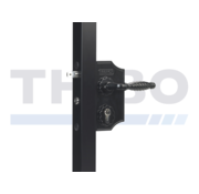 Locinox Small surface mounted ornamental gate lock