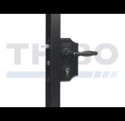 Thibo Small surface mounted ornamental gate lock