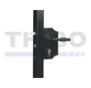 Locinox Large surface mounted ornamental gate lock