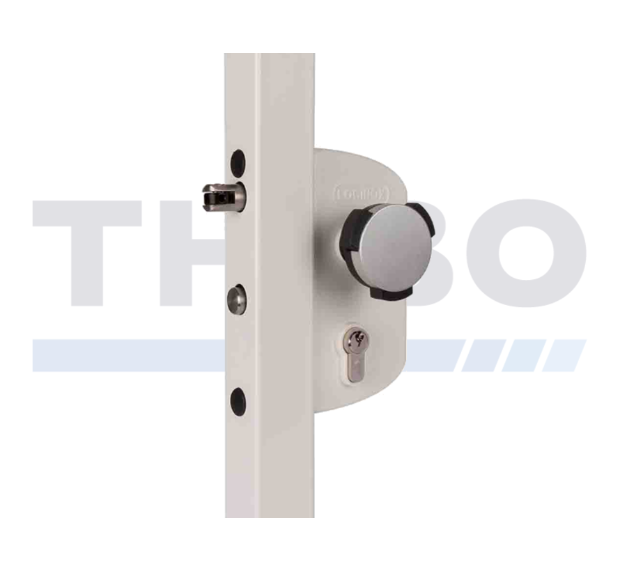 Surface mounted child safety lock