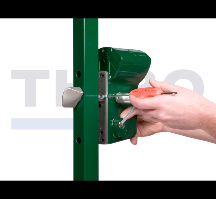 Mechanisch codeslot voor schuifpoorten - Leonardo