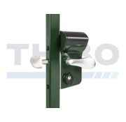 Mechanical code lock for sliding gates - Leonardo