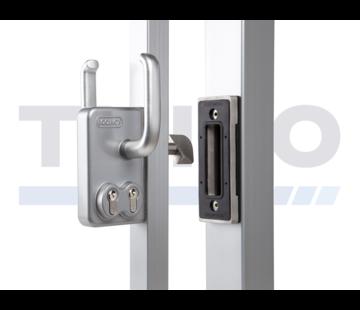 Thibo Serrure pour portail coulissant double cylindre