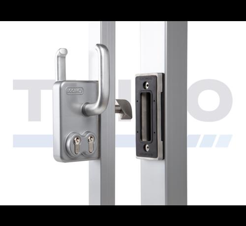 Locinox Double Cylinder sliding gate lock