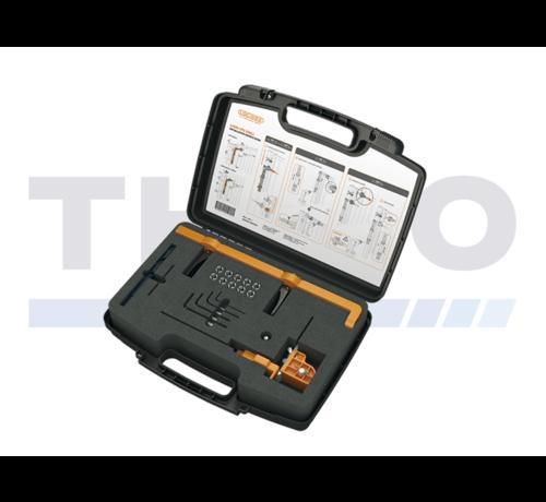 Locinox Montage- en boorkaliber voor Lion en Verticlose-2 poortsluiters