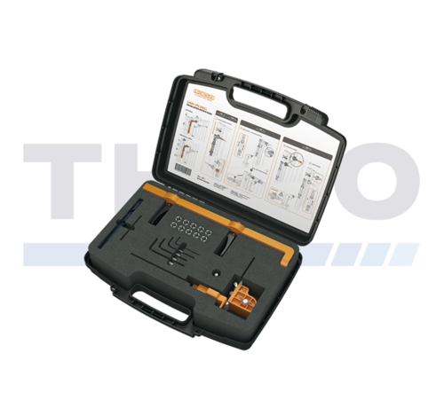 Locinox Montage- und Bohrschablone für Lion und Verticlose-2 Torschließer
