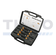 Toolbox with 4 Locinox clamps