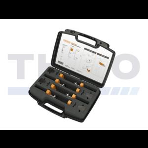 Coffret à outils avec 4 griffes de serrage Locinox