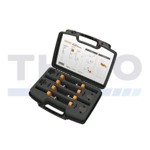 Locinox Toolbox with 4 Locinox clamps