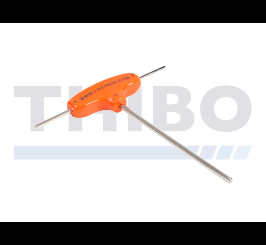 Montageschlüssel für Torschließer