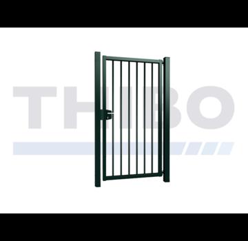 Thibo Einfaches Gitterzaun Drehtor Vesta mit runde Stäbe