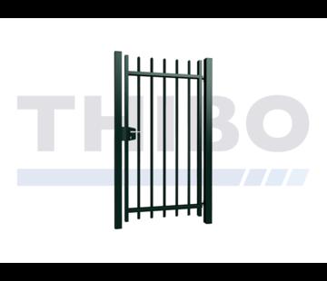 Thibo Portillon pivotant Arena simple avec des barreaux carrées