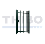 Thibo Single Orion swing gate with round bars
