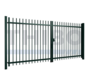 Double swing gate Orion with round bars
